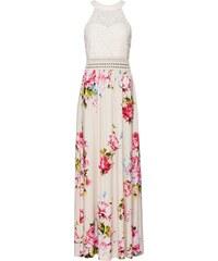 bonprix Letní šaty s květovým vzorem a krajkou cfcf476dc7