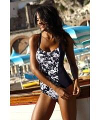 Dorina Dámske jednodielne sťahovacie curves plavky Fiji Black čierno-biela 0f79cb2757