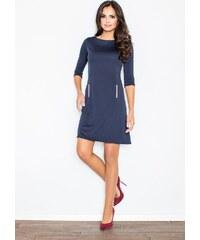2c7e605df0cd FIGL Čierne šaty so skladanou sukňou - M083 - Glami.sk