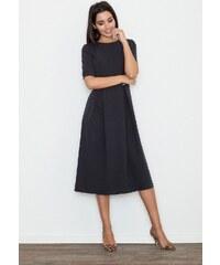 FIGL Dámske čierne šaty M553 84c232d0289