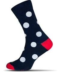 Tmavě modré puntíkaté pánské ponožky - Glami.cz a5e86b1589