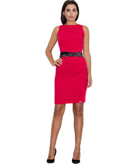 FIGL Červené šaty bez ramienok M602 - Glami.sk 087d69dbb15