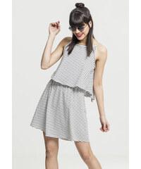 Urban Classics Ladies 2-Layer Spaghetti Dress offwhite blk d7cc53e08a