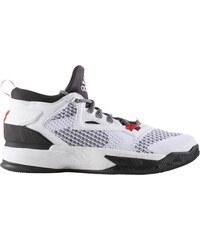651051e3b Pánske basketbalové topánky adidas Performance D Lillard 2 PK (Biela /  Čierna / Červená)