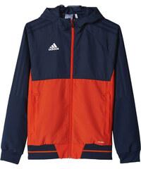 Chlapecká bunda adidas Performance TIRO17 PRE JKTY (Tmavo modrá   Oranžová    Biela) e59c306fb64