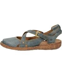 Josef Seibel dámske pohodlné sandále s remienkom - modré 1d7df1de96d