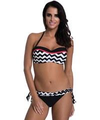 e34cf0a7639e Primo Dámske dvojdielne plavky Sabrina čierno biele