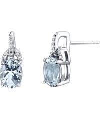 Eppi Zlaté perlové náušnice so zafírmi a diamantmi Zina. Detail produktu ·  Eppi Akvamarínové náušnice zo striebra Haifa 7e210f9c36b