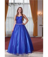Marizu fashion nádherné modré tylové duhované maturitní 4e06d3770d0