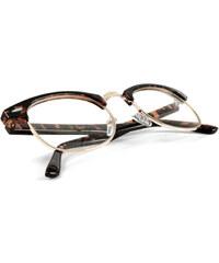 4ee780180981af EverShade Lunettes Vintage marron or à verres transparents