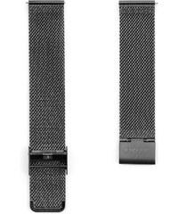 Sidegren Síťovinový ocelový řemínek na hodinky - popelavě šedá spona 4c671639f5