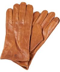 Salt   Hide Světle hnědé perforované kožené rukavice 39aff968c1