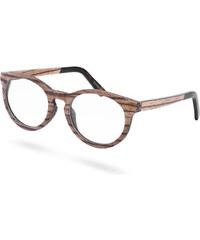 Paul Riley Tiszta lencsés teknősbéka napszemüveg fakerettel 0edffa3111