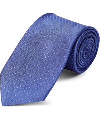 2744a7da26f TND Basics Pastelově modrá puntíkovaná hedvábná 8cm kravata