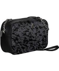 Kožené kabelky semišové crossbody čierne malé Wittchen 6wit-01-5-320 ... 3a940029ad9