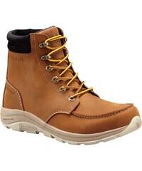 f2c2113d8e Zateplené kožené topánky na zimu v kamelovej farbe - Glami.sk