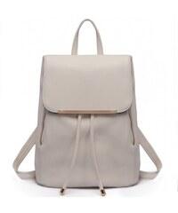 Lulu Bags Světle šedý stylový dámský modní batoh Frell eb8a98abe0