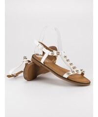 7d1ce65413 Biele Dámske sandále z obchodu RioTopanky.sk - Glami.sk