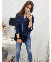 Tmavo modré Dámske bundy a kabáty z obchodu BestLook.sk - Glami.sk 7f79127684a