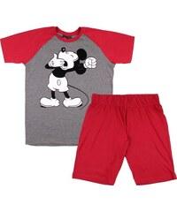 Egyéb márka Mickey grafit-bordó férfi pizsama d257b895ee