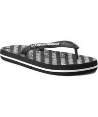 Vietnámi papucsok EA7 EMPORIO ARMANI - XCQ001 XCC07 00002 Black 4996dca3b9