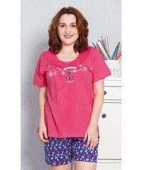 ab0503818ee Pyžamo dámské šortky Vienetta Secret TUČŇÁK NA DOVOLENÉ - Glami.cz