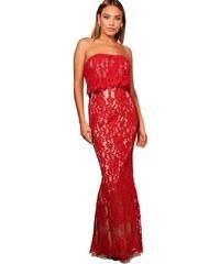 2319a0982b9a BOOHOO Boutique Krajkové společenské šaty