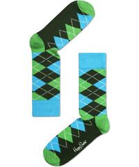 Barevné ponožky Happy Socks s károvaným vzorem Argyle - S-M (36-40) 876b8dd643