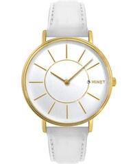 Zlato-bílé dámské hodinky MINET BROADWAY LUXURY WHITE MWL5036 8e20c32b3a