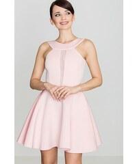 Glamor Dámske spoločenské ružové šaty na svadbu - Glami.sk d7134f40428