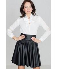 5a331a14bd57 LENITIF Dámska čierna sukňa K326