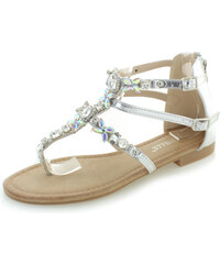 Bestelle Stříbrné sandály Coletta 2c4ecd4dba