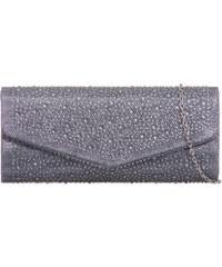 ikabelky Flitrová spoločenská kabelka K-L941 sivá 8e35a39c3a4