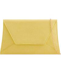 ikabelky Zaujímavá listová kabelka K-L683 žltá 1d8ab4a28dd