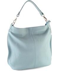 Jadi Dámská kabelka ze strukturované kůže světle modrá 6-546 227abf3b670