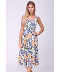 REVDELLE Letní midi šaty JORDANIE barevné 6fc9d382c1