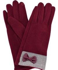 Dámské rukavice Arteddy - vínová 52499f5b61
