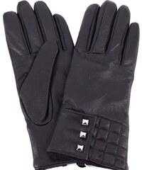 Dámské kožené rukavice Coveri Collection - černá (M) fd2b930460