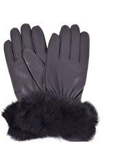 e46b4d92233 Dámské kožené rukavice Coveri Collection - černá (M)