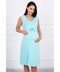 6ae28b4a381 Mentolová letní šaty - Glami.cz