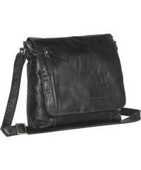 The Chesterfield Brand Klopnová kožená taška přes rameno C48.085800 Maeve  černá f4286feeda2