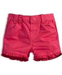 Dívčí šortky KNOT SO BAD BABY růžové 21147d4b17