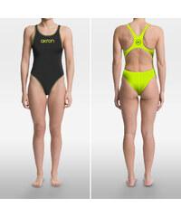 Dámské plavky Akron Babbit Evo Bicolor Woman černá žlutá 160345a289