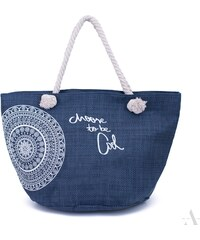 ArtOfPolo Plážová taška be Cool Modrá 88ebd940b93
