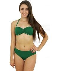 858e2bc52 Azulena Dámske dvojdielne plavky Rock Star zelené