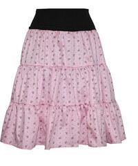 Radka Kudrnová Letní volánová sukně pod kolena 2764ec96b6