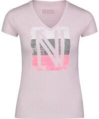 694b8eee23ea Nordblanc Ružové dámske bavlnené tričko COATING - NBSLT6739