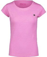 8db7e3d79ef8 Nordblanc Ružové dámske bavlnené tričko RUSTIC - NBSLT6735