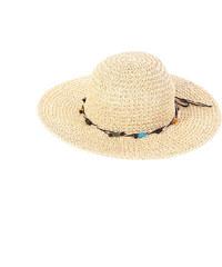 20796b521 Dámsky klobúk z rafie Kbas s farebnými korálkami 064808