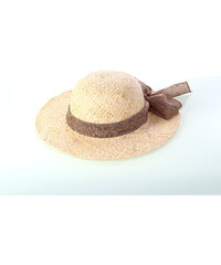 e3b6d6057 Dámsky slamený klobúk Kbas so šatkou 019809